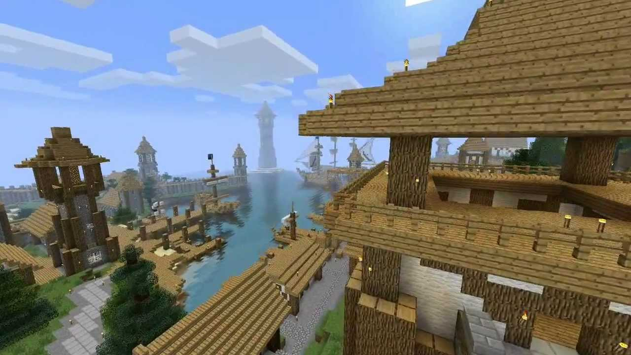 Minecraft Medieval City Download Minecraft: Medieval Ci...
