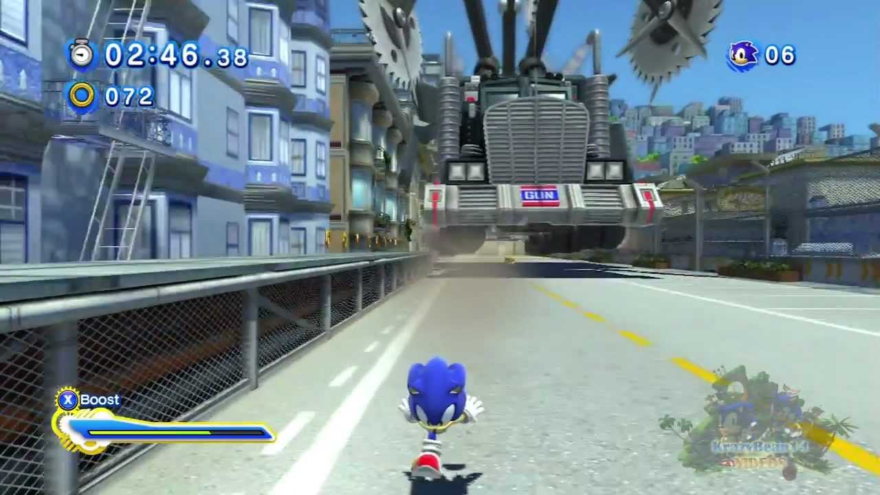 sonic generations 100 walkthrough red ring guides