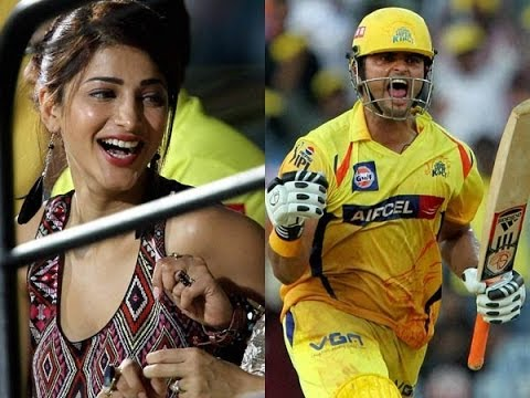 Is Suresh Raina dating Shruti Hassan ?