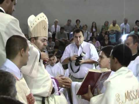 Em Colina, Luiz Paulo é ordenado diácono