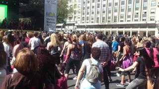 Buenos Aires Celebra Brasil 2016 | Gente Bailando en la calle