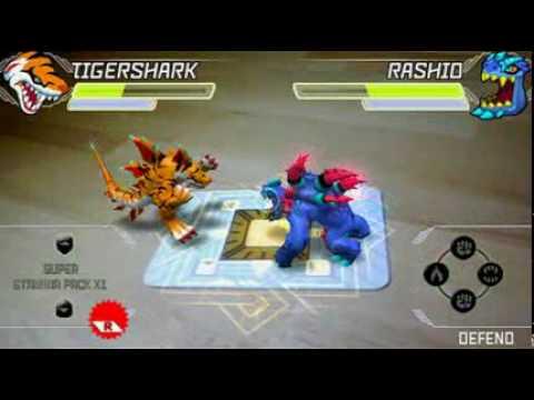 Invizimals combate tigershark youtube - Tigershark invizimals ...