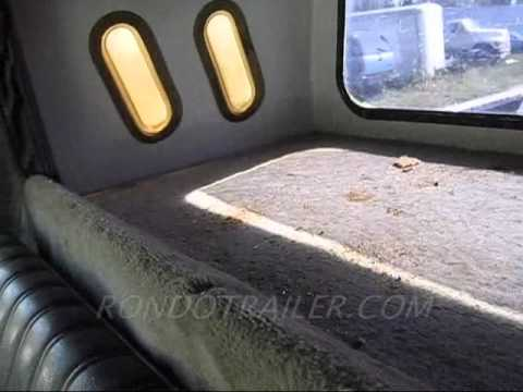 Sleeper cap for pickup truck! Ever see one? now you hot shotters can own it! - YouTube
