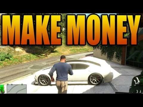 How to Make a TON of Money in Grand Theft Auto V! (Not Lester Missions - GTA V Singleplayer),