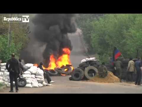Ucraina: Sloviansk, i filorussi si prepara...