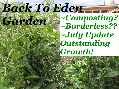 Back To Eden Gardening: Raised Beds And Compost Use In A BTE Garden