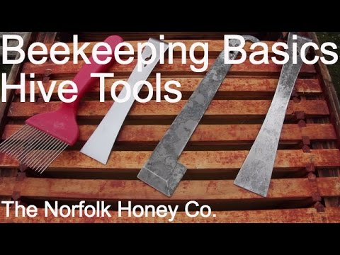 Beekeeping Basics - Hive Tools - The Norfolk Honey Co.