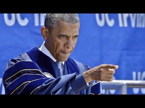 Obama Shames Climate Change Deniers