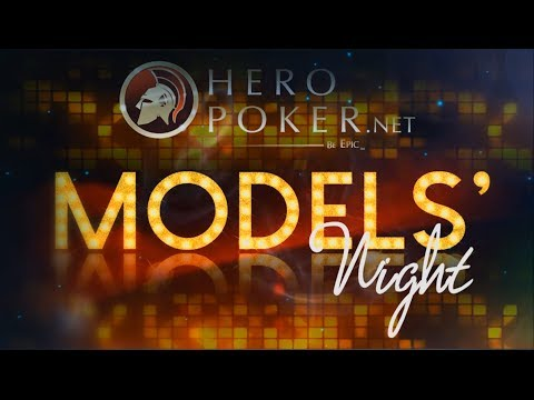 Hero Poker Models' Night Highlights @ Starwood Cafe 06/07/2014