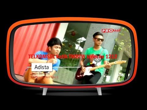 Adista Band - Ingin Bertemu (Official Lyrics Video)