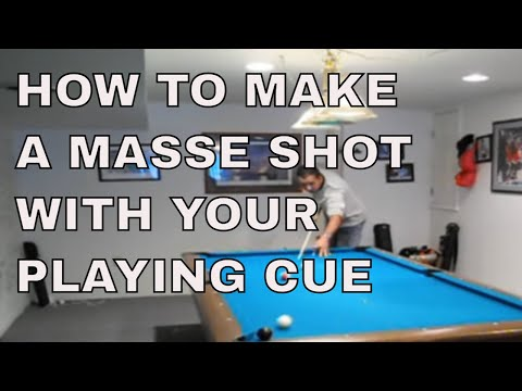 POOL LESSONS: Long Masse Shot - FXBilliards.com