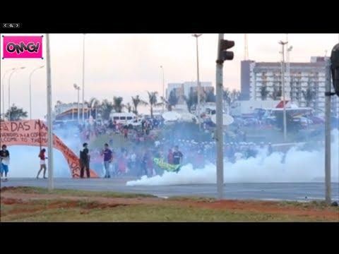 Violent Anti World Cup Protests Erupt In Brazil