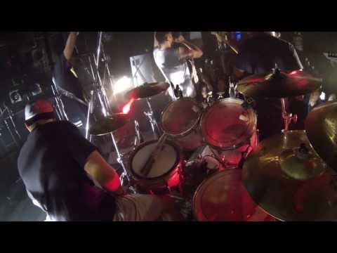 Revenge - Immortals & Global Suffering Disease Live @ Cyclone, Tokyo (Drum Cam)