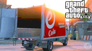 GTA 5 Online: How To Open The Back Doors Of A Truck
