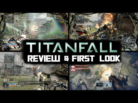 TitanFall Xbox One Gameplay Review & First Impressions - TitanFall vs CoD Ghosts vs Battlefield 4
