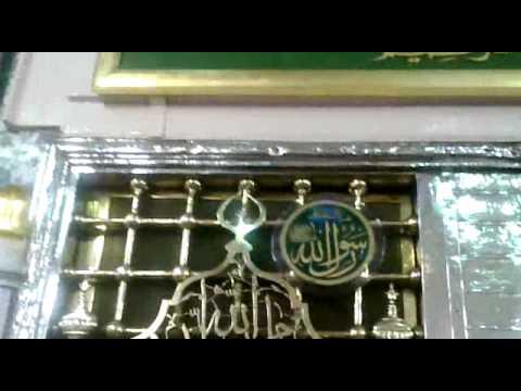 Hazrat Muhammad Grave   Roza-e-Rasool (S.A.W.W) *INSIDE VIEW* - 3rd june 2012
