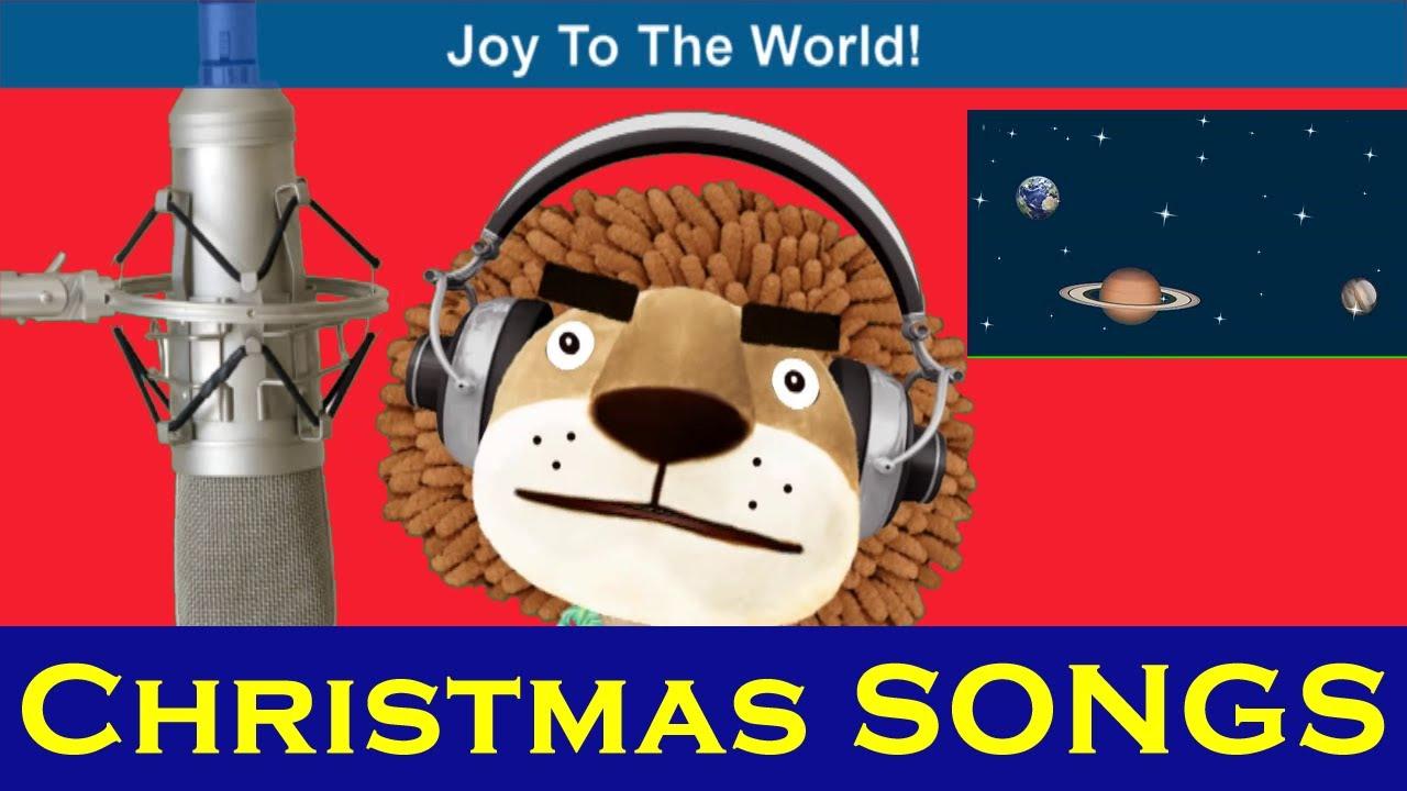 Animated Christmas Songs | Joy To The World | Kids Songs With Lyrics From SmileKids TV - YouTube