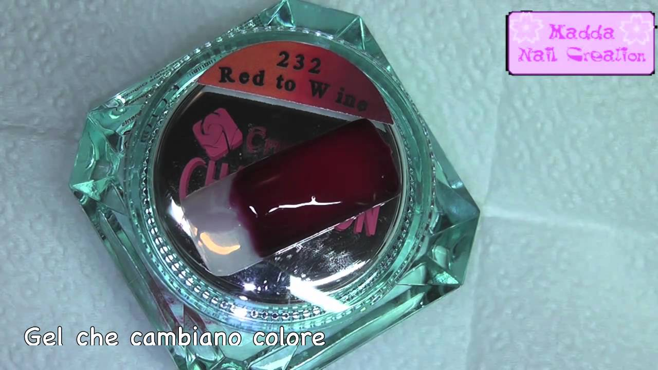 Nuovi gel crystal nails che cambiano colore in base al for Adidas che cambiano colore