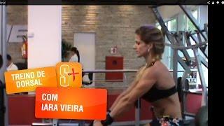 Treino de Dorsal com Iara Vieira
