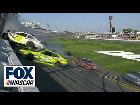 CUP: Sprint Cup Series Practice Crash - Kligerman Flips Into Fence