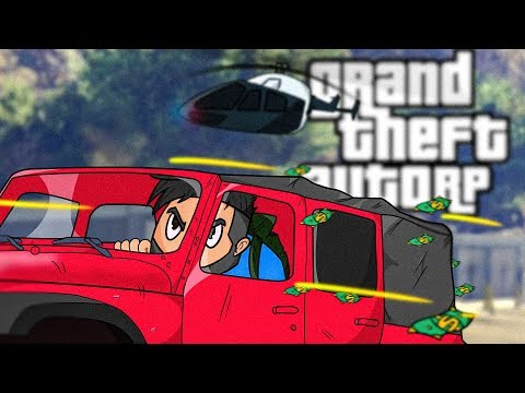 GTA 5 Police Escape WENT WRONG • GTA 5 RP Funny Moments & Fails