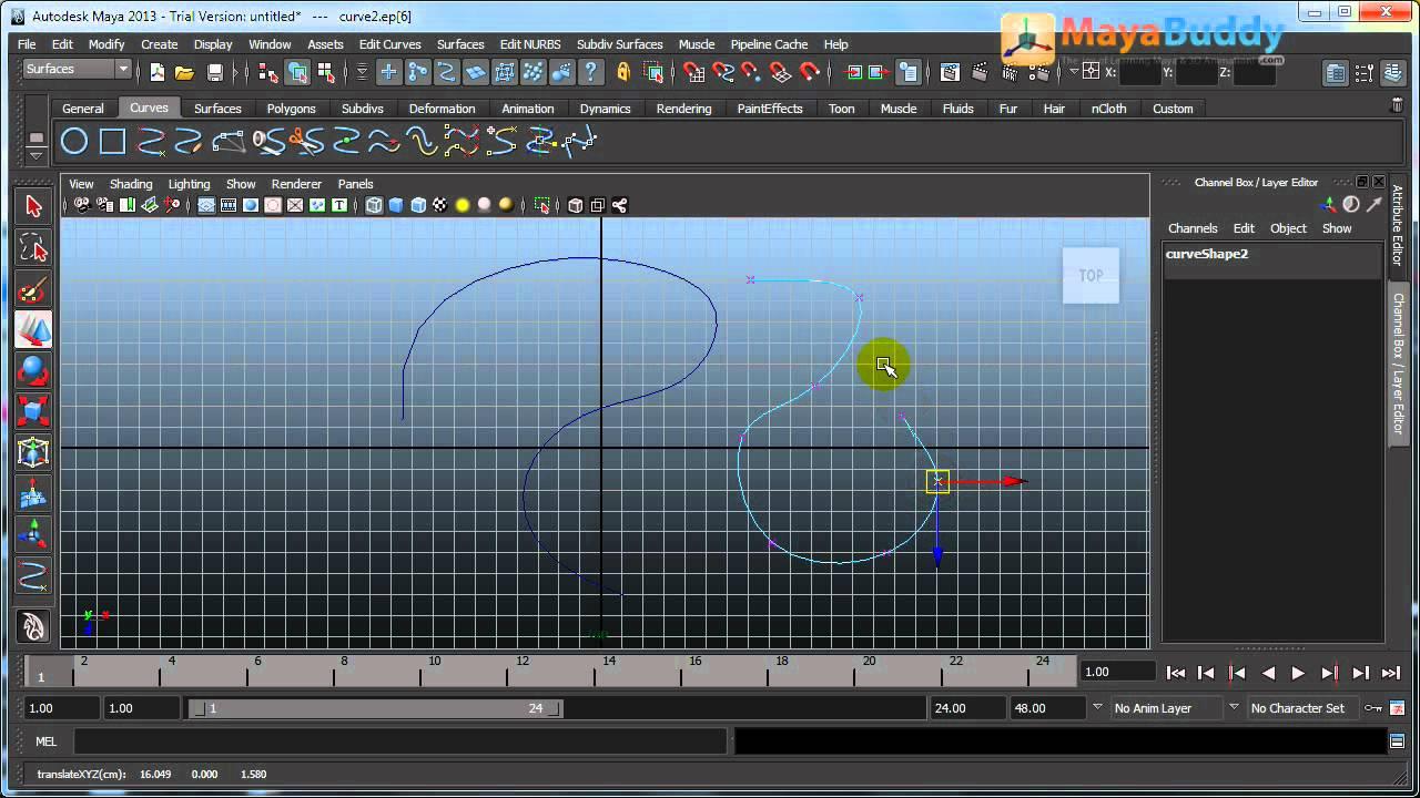 maya tutorials - nurbs modeling