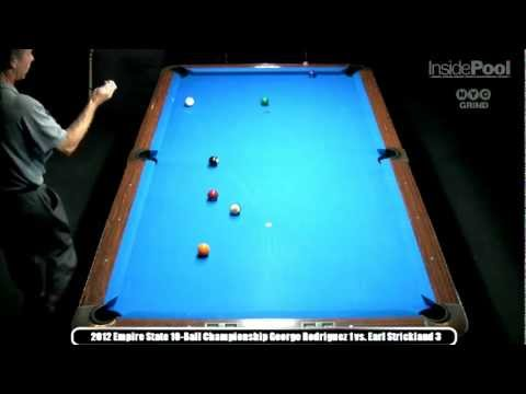 Earl Strickland vs, George Rodriguez  2012 Empire State 10-Ball Championships at Raxx Pool Room