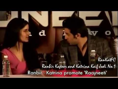 Ranbir Kapoor & Katrina Kaif at the Rajneeti Press Conference II Jodi No.1