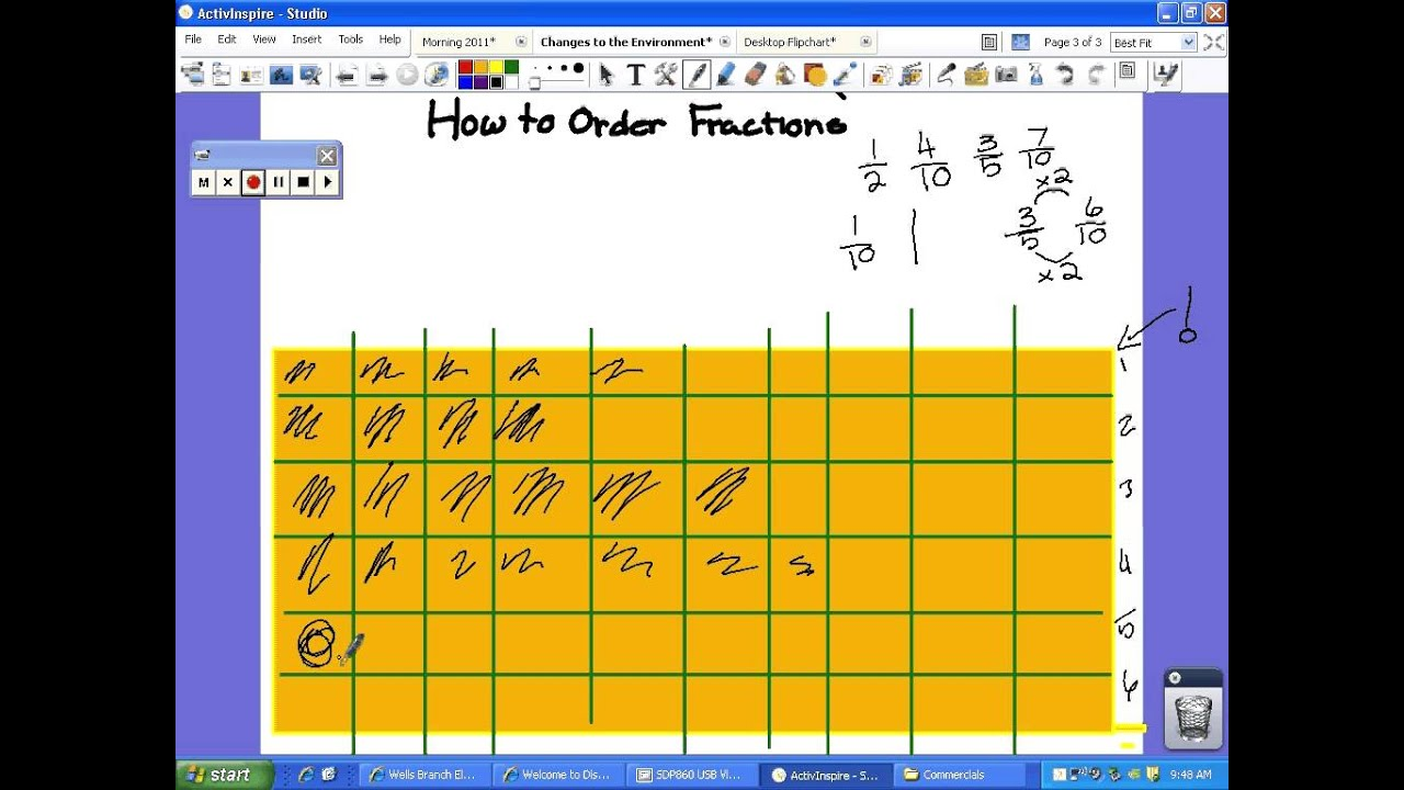 The gallery for --> Fractions Chart - 94.9KB