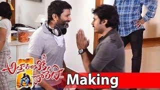 Attarintiki Daredi Movie Making| Pawan Kalyan Hangover