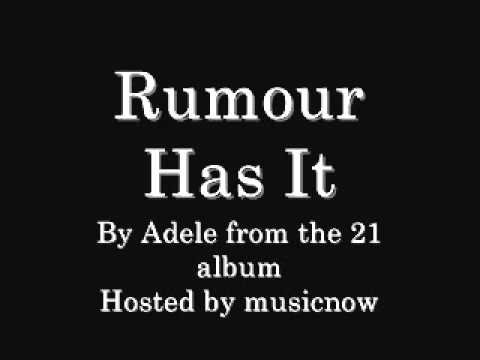 Adele – Rumour Has It Lyrics | Genius Lyrics
