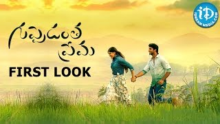 Guppedantha Prema movie First Look - Sai Ronak, Aditi Singh