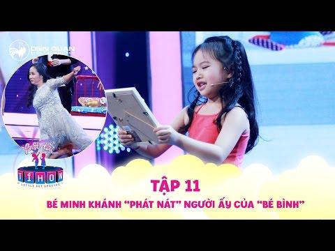 Biệt tài tí hon | tập 11: bé Minh Khánh 5 tuổi hát chế bài Người Ấy khiến Trịnh Thăng Bình thích mê