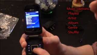 LG 440G Straight Talk Cell Phone