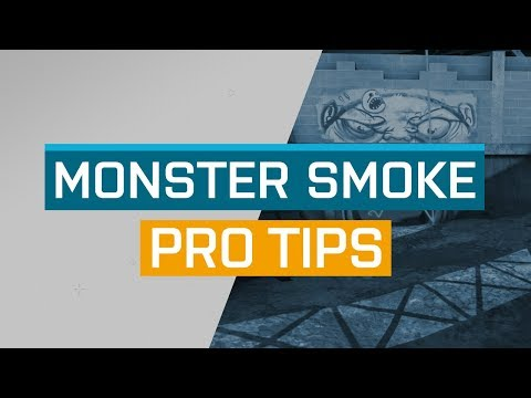 CS:GO - ProTips: Overpass - B Site Monster Smoke