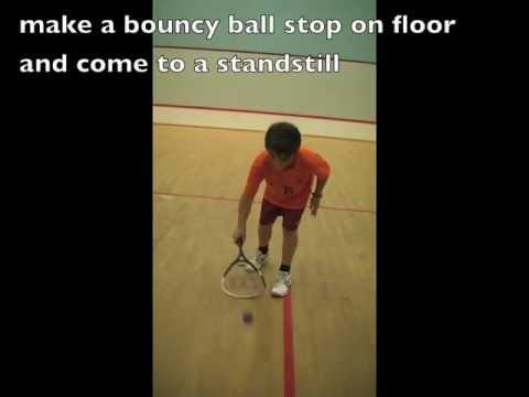 Racquet Handling Racquetball: Hand Eye Coordination Activities Fine Motor Skill Kids Tennis Training