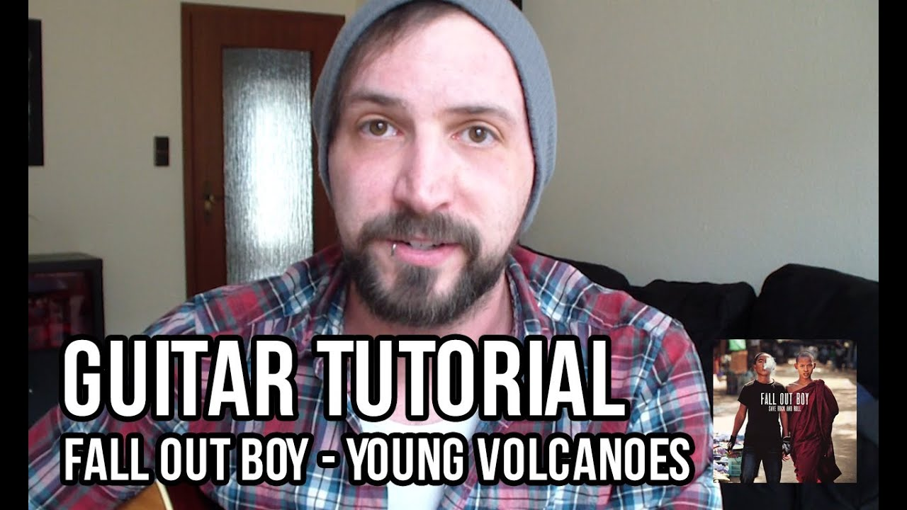 Young Volcanoes (Fall Out Boy) - Guitar Lesson [English] - YouTube
