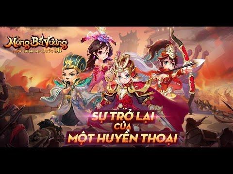 Trải Nghiệm Game Mobile Mộng bá vương - Minh Châu 3D