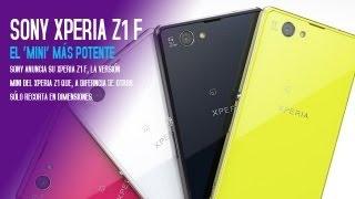Sony Xperia Z1 F, Características Y Especificaciones Del