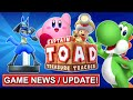 Main Character in Smash Bros. Wii U / 3DS? Game News, New Shows, Lucario Amiibo, Toad, Yoshi, Kirby