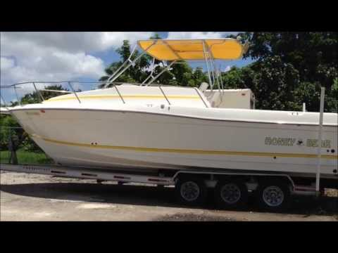 1998 Hydra-Sports 31' - by Boat Export USA, 50,000 + Boats, Yachs, PWC