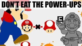 "6 Tips, Tricks and Ideas for ""Don't Eat the Power Ups"" Stages in Super Mario Maker."