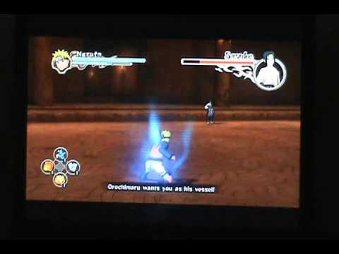 Naruto Shippuden Ultimate Ninja Storm 2 Naruto VS. Sasuke Boss Battle