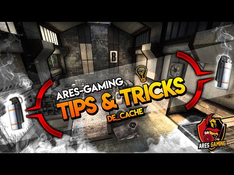 Ares Gaming tips & tricks: CS:GO 5 useful smokes on de_cache [2018] *NEW*