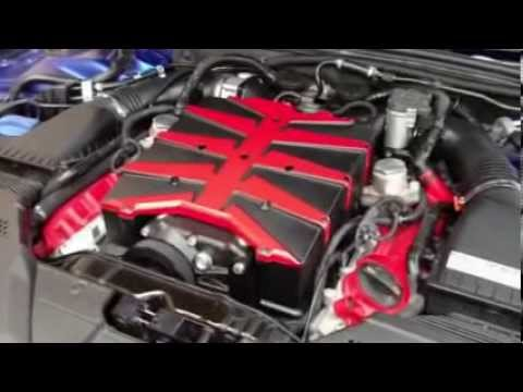 First video of the PES Supercharged RS5 running