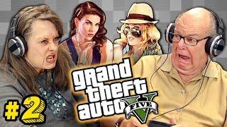 Elders Play Grand Theft Auto V #2 (Elders React: Gaming
