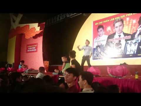 Ca sĩ Nam Dương (ITV) tại hội chợ Ninh Bình part 2