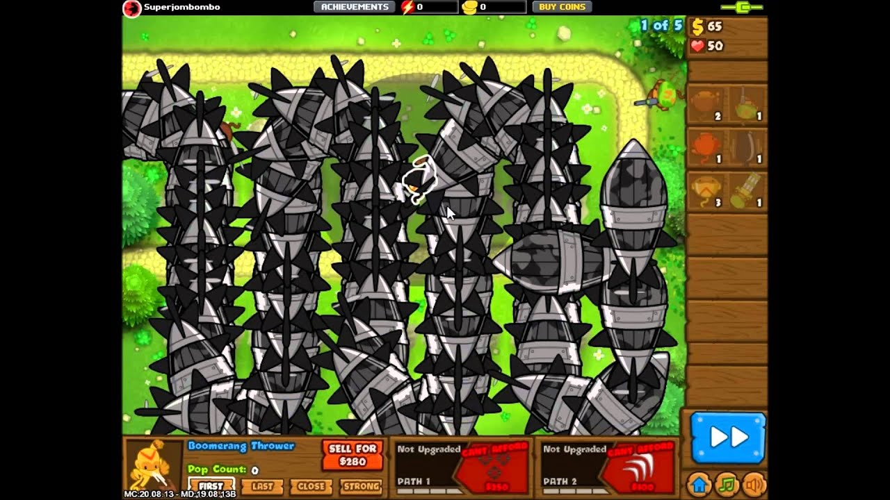 Bloons monkey city new moab class super bloon quot ddt quot youtube