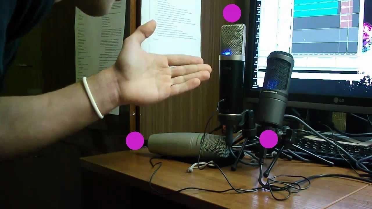 Test USB microphones AT2020, Samson C01U, M-audio - YouTube