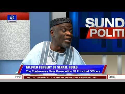 Politics Today: Removing Bukola Saraki As The Senate President Is Impossible - Adeyeye